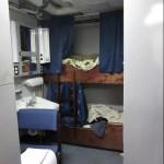 Shared stateroom on Oregon II