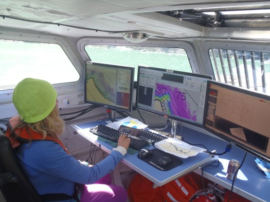 Multi-beam Sonar Work Station