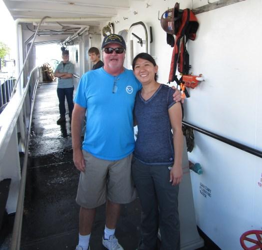 Captain Dave Nelson of NOAA Ship Oregon II