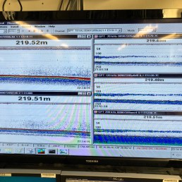 Here is a picture of all 5 transmitters where the science team looks for signs of hake.