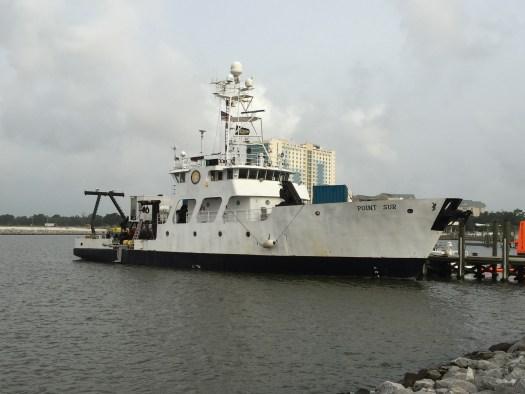 R/V Point Sur in port
