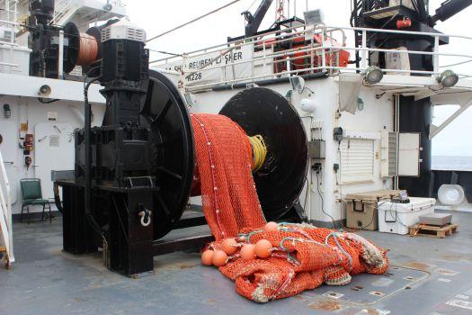 Trawl Net Spooled