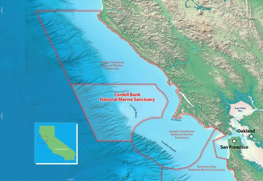 Cordell Bank and Greater Farallones NMS