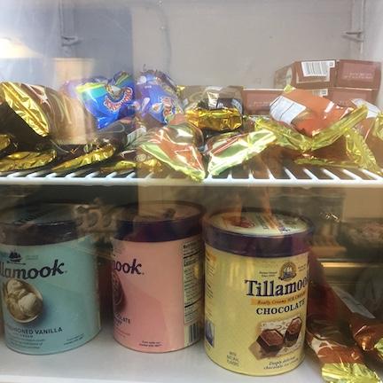 Ice cream spot