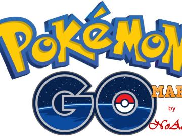 Pokemon GO! mapa
