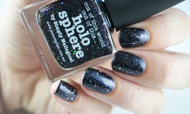 Swatch of picture polish holo sphere