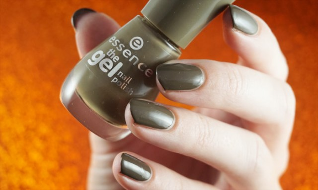 swatch of essence olive you