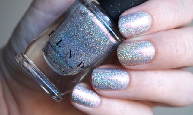 swatch of ILNP Rosewater from their Color Kissed Ultra Holos collection