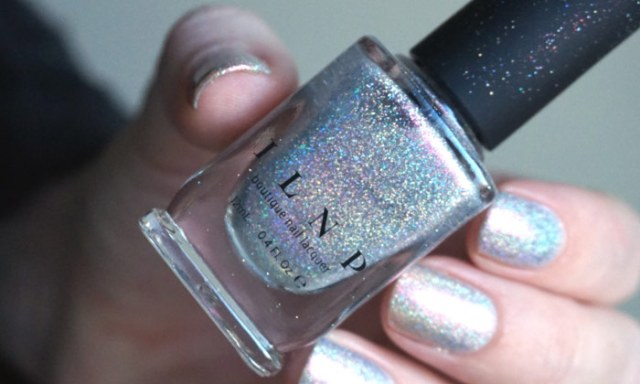 picture of the bottle of ILNP rosewater, one of the color kissed holographics