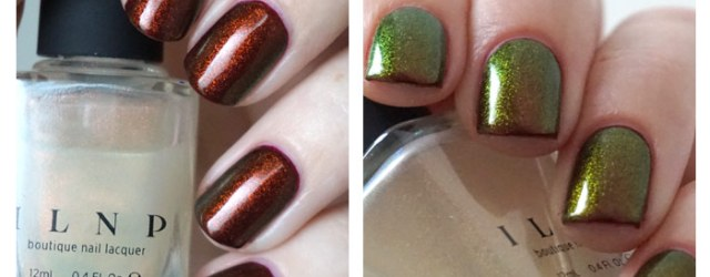Two coats of the magician over OPI visions of love