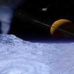 土星の衛星・エンケラドスに地球外生命の可能性。地底の海に魚が泳いでる?!