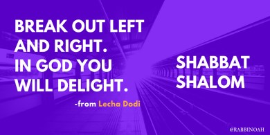 Breakout left and right! In God you will delight!
