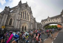An Post Ras 2016: Depart from Dublin.
