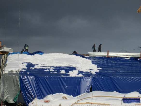 Davos Construction Snowy Roof
