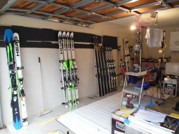 Ted Ligety and Bode Miller's New Zealand Wax Room