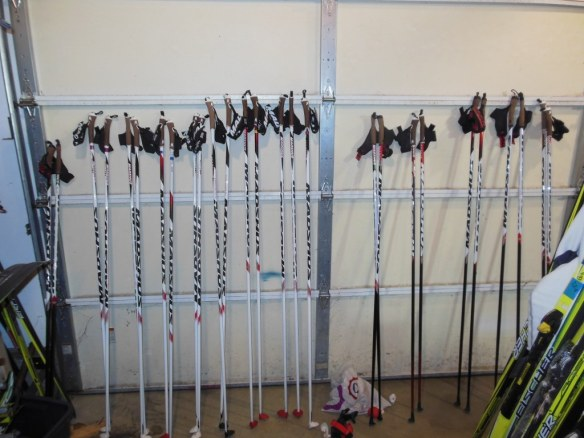 Noah Hoffman's Fleet of Poles