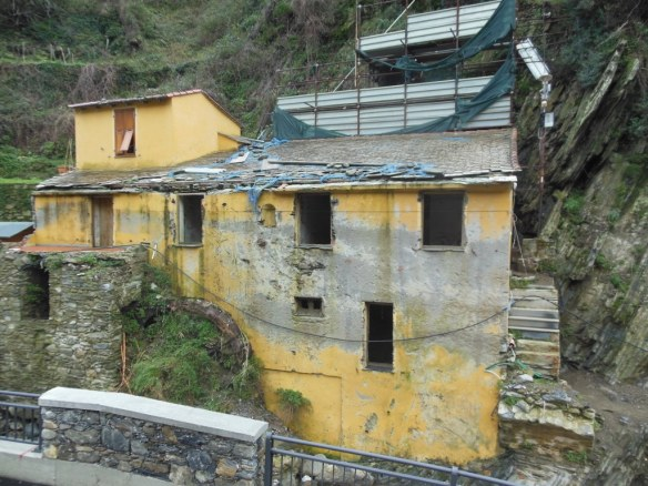 Damaged House in Cinque Terre