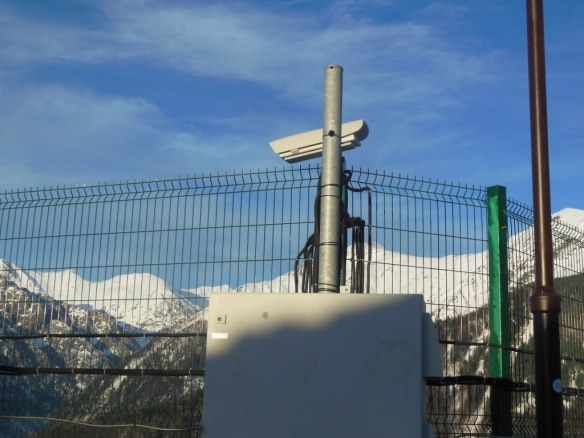 Security Camera Around Sochi Olympic Endurance Village