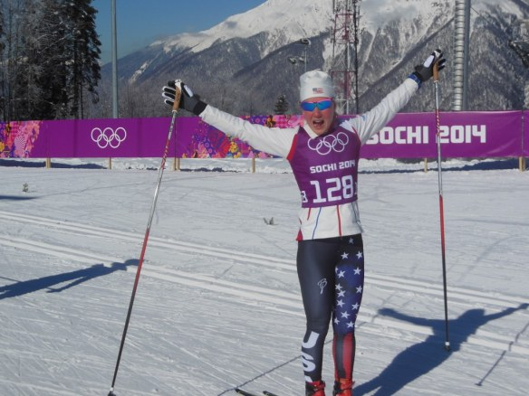 Ida Sargent Psyched in Sochi, Russia