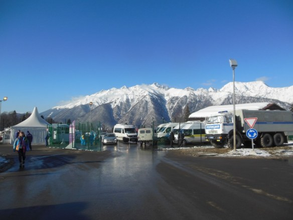 Sochi Olympic Endurance Village Security Checkpoint