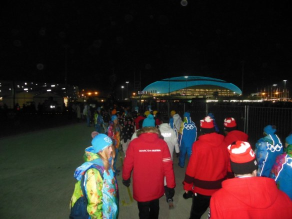 Athletes Departing Early from Sochi 2014 Opening Ceremonies