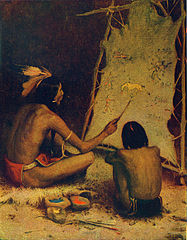 American Indian story-telling, an interesting parallel to the myths about the London Jews' Society