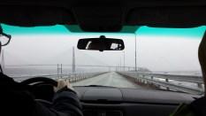 Bridge in the storm