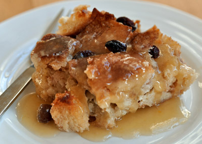 flirting meme with bread pudding from scratch without