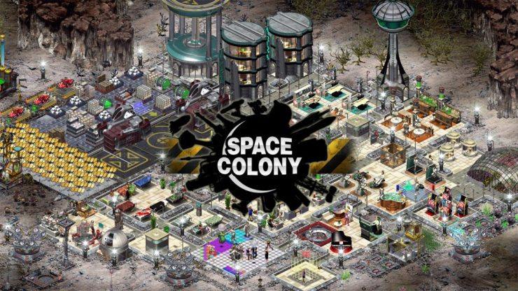 Space Colony HD Steam Indie Game