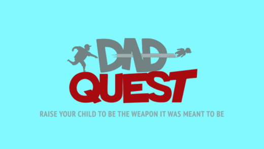 Dad Quest Logo