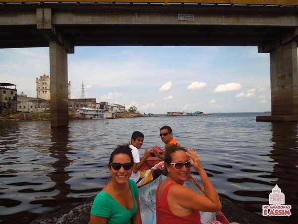 Partimos para o Igarapé do São Raimundo rumo ao Rio Negro
