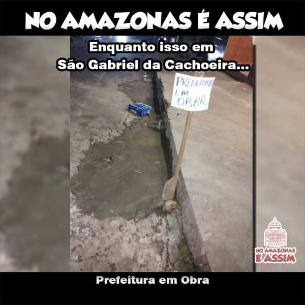 Prefeitura de São Gabriel da Cachoeira em Obra