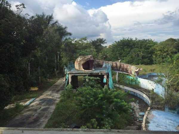 Selva Park em ruínas em Manaus