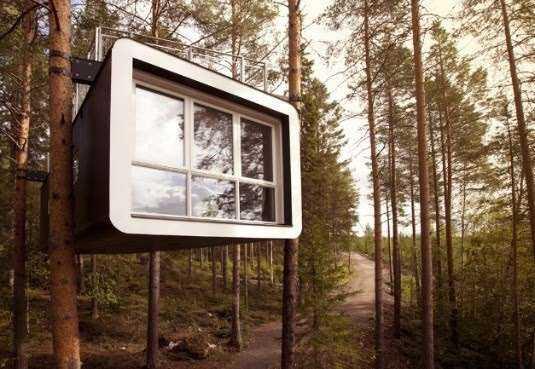 Tree Hotel – Suécia / Foto : © RoadTrio