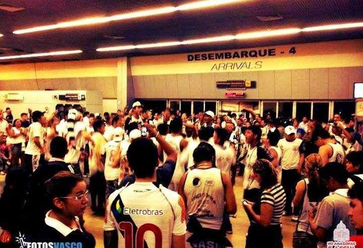 Fotos da 26° FJV recebendo o vasco aqui em Manaus. Fotos Vasco | Foto enviada pelo leitor: Bismarck P.