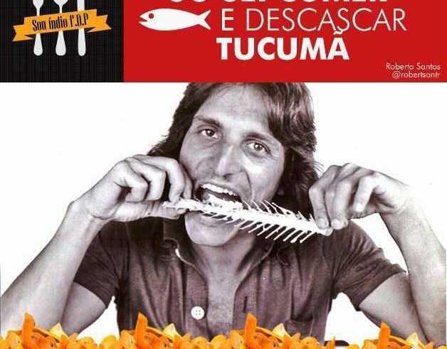 Vocês só sabem comer Peixe e Descascar Tucumã