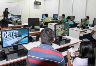 Cetam oferta mais 4.931 vagas em cursos nos Centros de Convivência