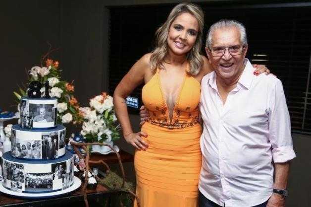 Carlos Alberto e Renata Domingues / Foto – arquivo pessoal.