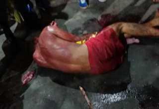 Um dos cidadãos chegou a desmaiar durante a coça – Divulgação