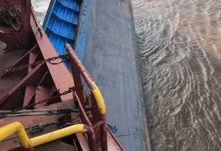 Divulgada a lista da tripulação de Balsa após batida com navio no Rio Amazonas - Imagem: Via Whatsapp- Noticias do Amazonas