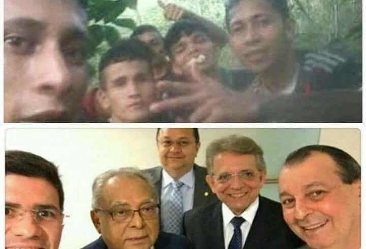 """Nova versão da foto """"Deu Jaca"""" faz sucesso e viraliza na internet amazonense / Reprodução Internet"""