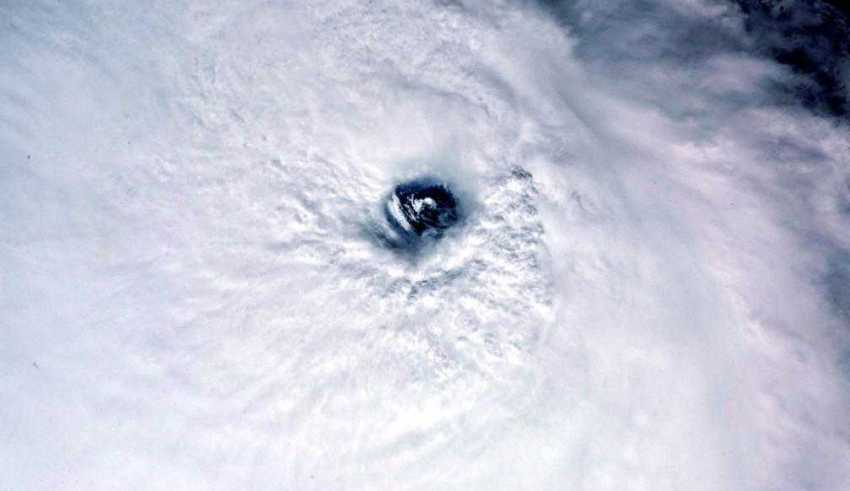Olho do Furacao José / Paolo Nespoli/NASA/Reprodução