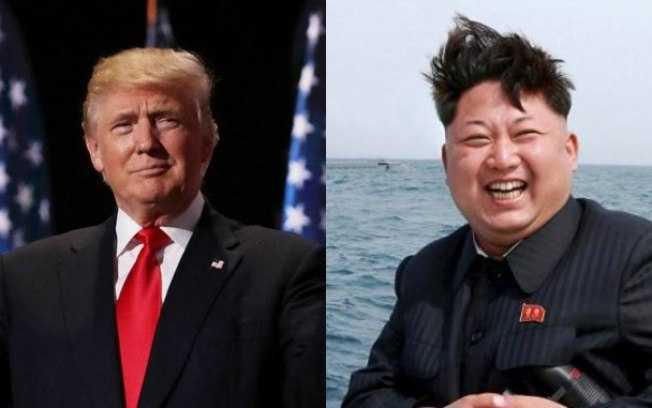 Trump respondeu às ameaças de Kim Jong-un, líder da Coreia do Norte / Divulgação