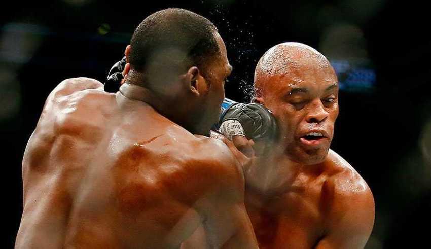 Campeão do UFC Anderson Silva / Foto : Divulgação