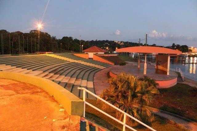 O anfiteatro da cidade onde são realizadas as festividades   Foto: Divulgação/Assessoria Prefeitura de Silves