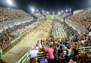 Sambódromo de Manaus / Foto: Bruno Zanardo/Secom