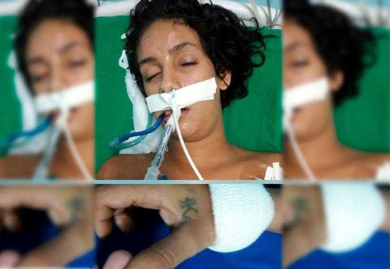 A mulher, segundo o setor de Serviço Social, tem evidências de agressão física   Foto: Divulgação