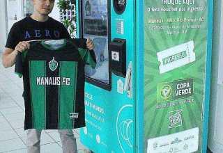 Garrafas PET e latinhas de cerveja e refrigerante valem ingressos para Manaus FC x Rio Branco-AC / Foto : Reprodução Facebook Manaus FC