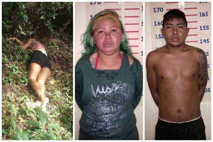 Rafael Freitas de 23 anos e Jaqueline Batista Trindade, de 29 anos,
