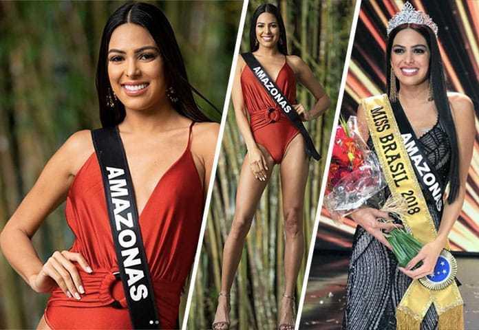 Amazonense, Mayra Dias é a Miss Brasil 2018